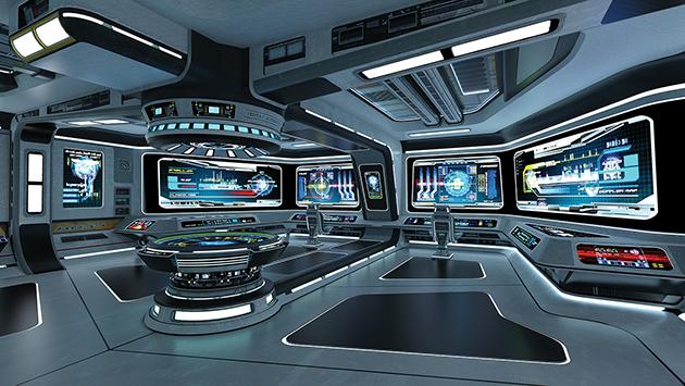 Control room hackers assured enterprises for Futuristic control room