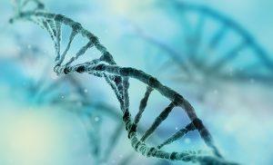 DNA string artist rendering