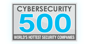 Cybersecurity 500 badge-for world's hottest security companies