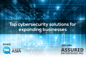 Tech Wire Asia Top 4 Cybersecurity Firms for Asia Article Banner