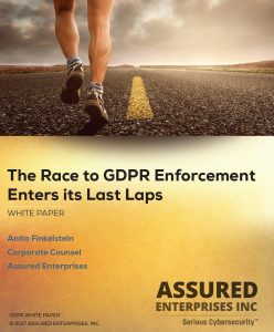 GDPR White Paper from Assured Enterprises - Free Download