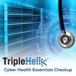 Cyber Health Essentials Checkup Graphic - computer server