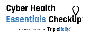 Cyber Health Essentials Checkup Logo - the checkup is a component of TripleHelix