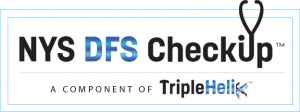NYS DFS Checkup Logo with white frame background