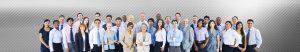 Careers banner showing diverse workforce