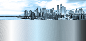 NY skyline background with tech overlay for NYS DFS Checkup slide