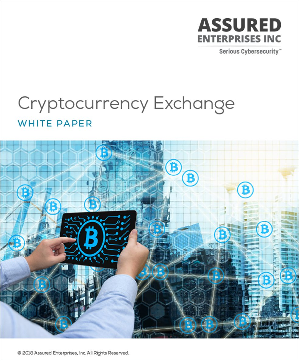 Cryptocurrency Exchange White Paper cover