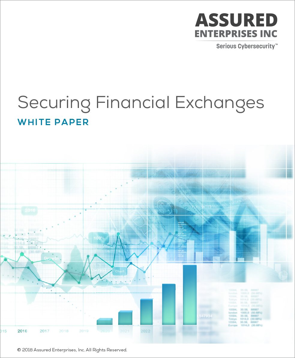 Securing Financial Exchanges White Paper cover